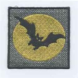 Halloween Bat embroidery design
