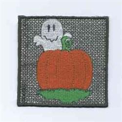 Halloween Candlewrap Pumpkin embroidery design