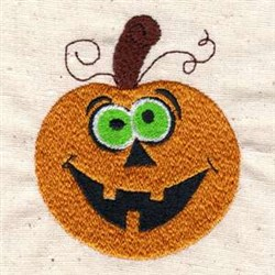 Halloween Jack O Lantern embroidery design