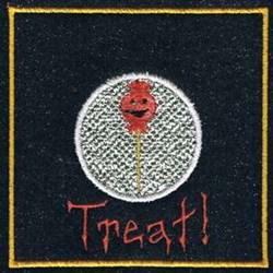 Halloween Treat embroidery design