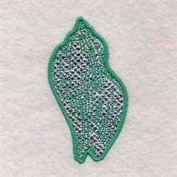 Mylar Seashell embroidery design