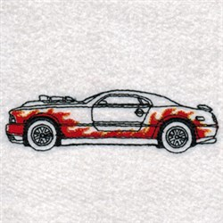 Hot Rods Carrier embroidery design