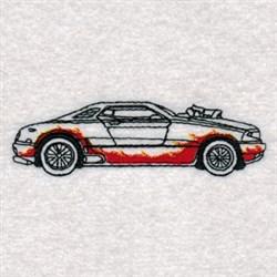 Hot Rod Machine embroidery design