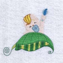 Baby Leaf   embroidery design