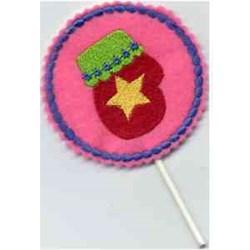 Sucker Cover embroidery design