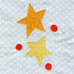 Planets & Stars embroidery design