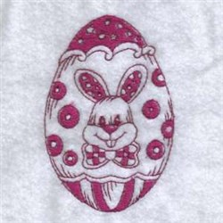 Hoppy Easter Bunny embroidery design