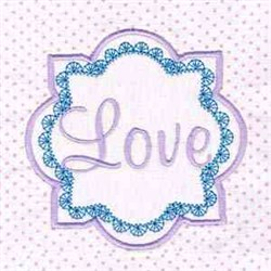 Love Cancer  embroidery design
