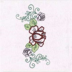 Rose Garden embroidery design