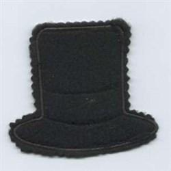 Snowman Hanger Hat embroidery design