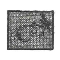Swirl Hanger embroidery design
