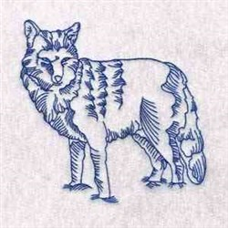 Wolfs Attitude embroidery design