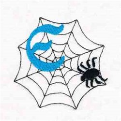 Spider Web E embroidery design