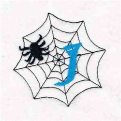 Spider Web I embroidery design