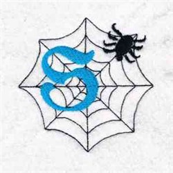 Spider Web S embroidery design