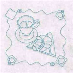 Tea Time Quilts embroidery design