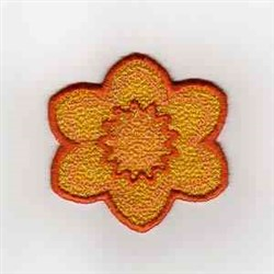 Summer Banner Sun embroidery design