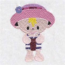 Summer Time Boy embroidery design