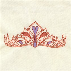 Tiara  Hat embroidery design