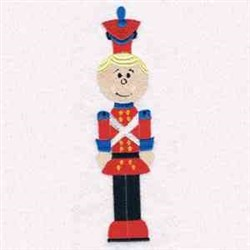 Toy Soldier In Red embroidery design