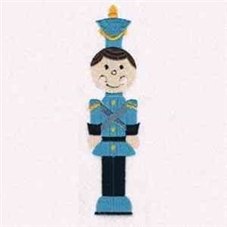 Toy Soldier Miniature embroidery design