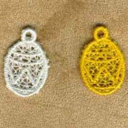 Oval Charm embroidery design