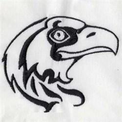 Hawk Head embroidery design