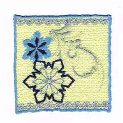 Wincan Wrap Snowflake embroidery design
