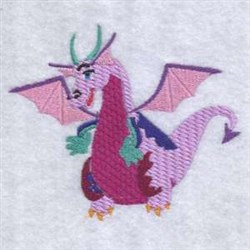 Winged Dragon embroidery design