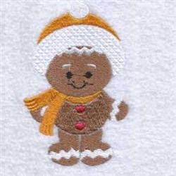 Winter Ginger embroidery design