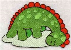 Fantasy Dinosaur embroidery design