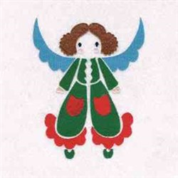 Xmas Angel embroidery design