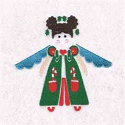 Christmas Cute Angel embroidery design