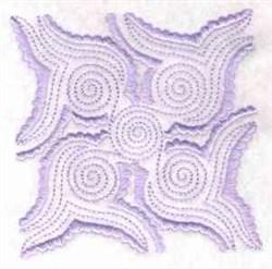 Chinese Indigo embroidery design
