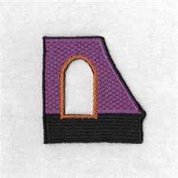 Halloween Window embroidery design