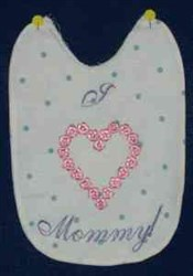 Love Mommy embroidery design