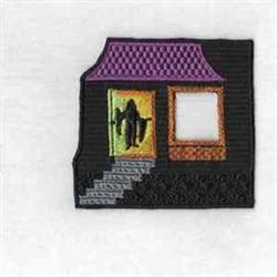 Halloween Door embroidery design