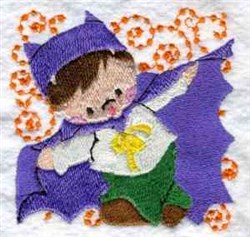 Halloween Toddler embroidery design