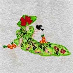 Applique Woman embroidery design