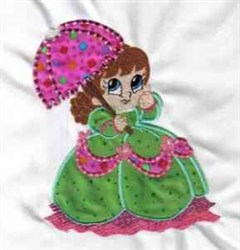 Applique Crinoline embroidery design