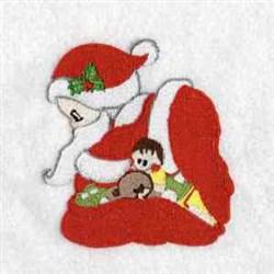 Baby Santa embroidery design