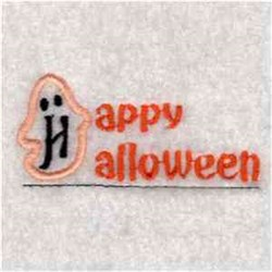 Ghost Pocket Topper embroidery design