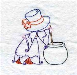 Witch Brew embroidery design