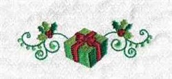 Xmas Gift embroidery design