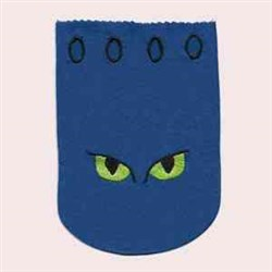 Scary Treat Bag embroidery design