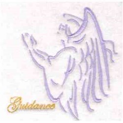 Guidance Angel embroidery design