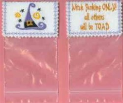 Candy Bag Topper embroidery design