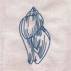 RW Seashell embroidery design