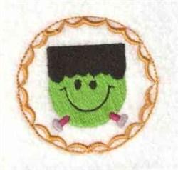 Frankie Head embroidery design