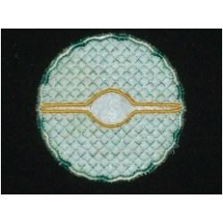 Diamond Coaster embroidery design